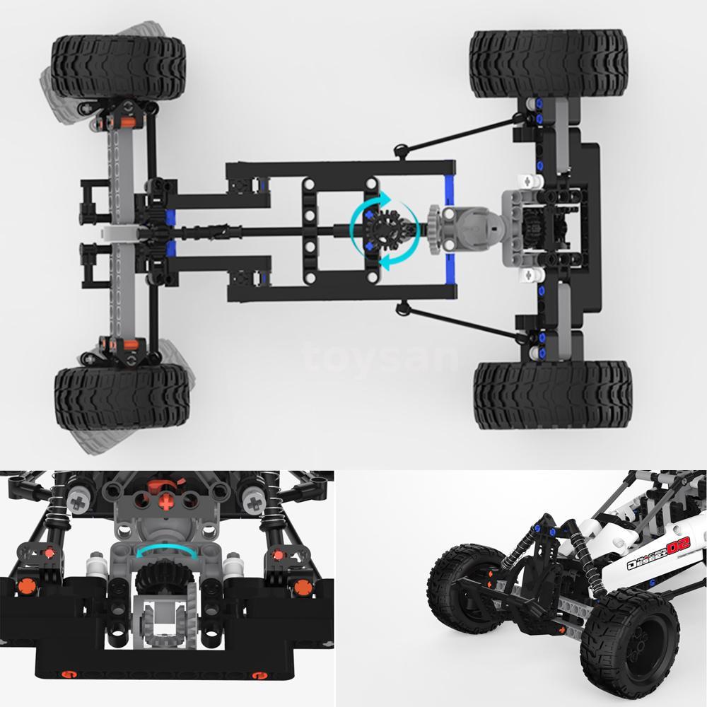 DIY Light Kit Assembled Building Blocks Ferrari F40 For Lego Lighting 10248 R2P1